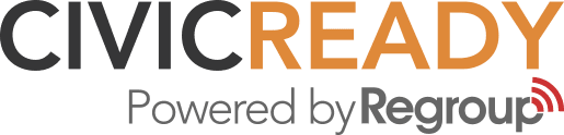 CivicReady powered by Regroup logo